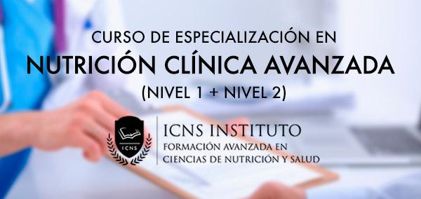 Curso de especialización en nutrición clínica avanzada